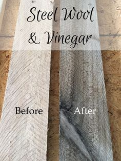 DIY Wood Pallet Wall - How to make new wood look weathered, distressed with diff. DIY Wood Pallet Wall - How to make new wood look weathered, distressed with totally different strategies. Whitewash, metal wool for grey weathered imp.