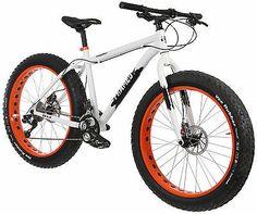 "Framed Minnesota 2.0 Fat Bike White/Orange 18"""