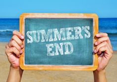 The Last Week's of Summer - tips on prepping for the year.