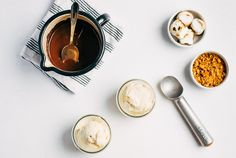 DIY S'Mores Ice Cream Sundaes