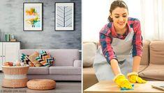 5 rengøringsvaner til at holde dit hjem rent og ryddeligt Homemade Cleaning Products, Pms, Cleaning Hacks, Bean Bag Chair, Sweet Home, How To Remove, Costanza, Furniture, Home Decor