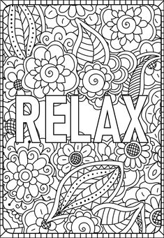 School Coloring Pages, Quote Coloring Pages, Fall Coloring Pages, Coloring Pages Inspirational, Printable Adult Coloring Pages, Disney Coloring Pages, Mandala Coloring Pages, Coloring Books, Children Coloring Pages
