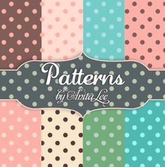Free Dotted Patterns for Photoshop.