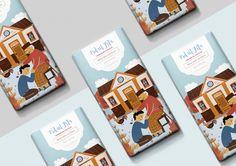Eid ul Fitr - Chocolate Packaging Design Series on Behance Food Packaging Design, Coffee Packaging, Bottle Packaging, Packaging Design Inspiration, Muslim Holidays, Octopus Art, Label Design, Package Design, Graphic Design