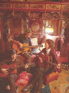 Jack White, Keith Richards, and Mick Jagger ~ so much awesomeness in one room.