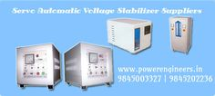 #powerengineers is the leading #Servoautomaticvoltagestabilizersuppliers from #Bangalore.Call  98450 03327 for more info.