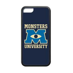 Monsters University Logo Case for iPhone 5c