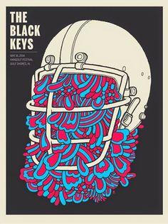 The Black Keys — Hangout Festival. Gulf Shores Poster 2014