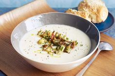 Comfort food doesn't mean hours in the kitchen. Our speedy cauliflower soup will instantly warm you up.