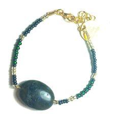 DW Boho Jewels bracelets - green over brown love it both door DWBohoJewels op Etsy