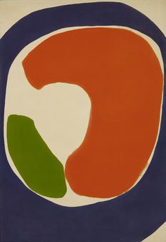 Jules Olitski ~ Purple Golubchik, 1962 (acrylic)