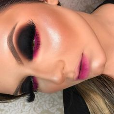 Makeup Inspo, Beauty Makeup, Eye Makeup, Hair Makeup, Unique Makeup, Makeup Application, Smokey Eye, Makeup Brushes, Septum Ring
