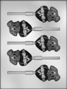 CK Products 3-Inch Dog with Heart Sucker Chocolate Mold *** Don't get left behind, see this great product offer  : Baking essentials
