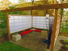 asian influenced backyards   International Garden : Page 05 : Archive : Home & Garden Television Meditation Garden, Zen Gardens, Backyards, Hgtv, Backyard Ideas, Massage, Master Bedroom, Pergola, Landscaping