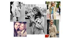 Whether you're wearing it over a marinière or a little black dress, casually open or tightly belted, the trench coat has become a timeless, staple piece to bring out of your wardrobe, season after season. From Brigitte Bardot to Cara Delevingne, the best looks starring the legendary British trend coat, from the 1950s to the present day.