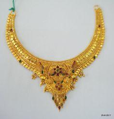Gold Earrings Designs, Gold Jewellery Design, Necklace Designs, Gold Necklace Simple, Gold Jewelry Simple, Short Necklace, Gold Set Design, Fashion Jewelry, Women's Jewelry