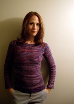 Ravelry: Hourglass Sweater pattern by Joelle Hoverson