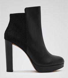 Reiss Berri Ankle Boots