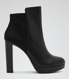 Reiss Berri Ankle Boots