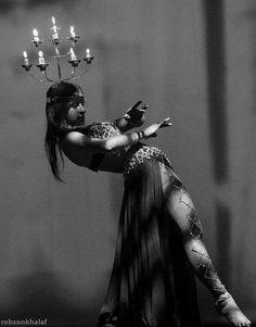 Belly dance with shamadan - wedding dance
