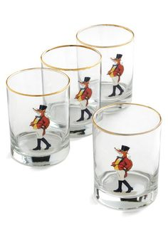 ModCloth -hot on the tail fox glass set