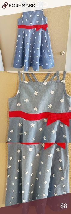 Gymboree NWT Girls 4th of July Dress Size 8 Adorable! NWT Gymboree Girls 4th of July Dress Size 8. Criss Cross Back Straps and Hidden Side Zipper Gymboree Dresses