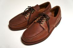 Russell Moccasin for Nepenthes – Oxford Shoe  http://www.facebook.com/DressShoesandSneaker  http://dressshoesandsneakers.tumblr.com/