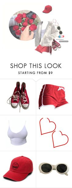 """""""my capillaries burst of boredom"""" by manticoar ❤ liked on Polyvore featuring Converse, Volcom and Acne Studios"""
