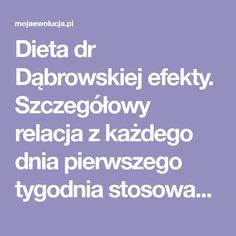 Dieta dr Dąbrowskiej efekty. Szczegółowy relacja z każdego dnia pierwszego tygodnia stosowania postu owocowo-warzywnego. Już teraz poznaj pierwsze efekty Diet