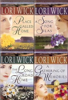 Lori Wick is a wonderful Christian author. No violence, no profanity, etc...just good clean books.