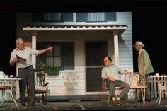 Photos from the stage production of Arthur Miller's All My Sons directed by Michael O'Connor of Shakedown Films.