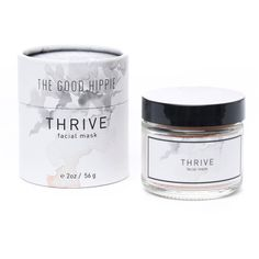 The Good Hippie Thrive Facial Mask found on Polyvore featuring beauty products, skincare, face care, face masks, none, facial mask and face mask