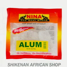 Alum (4oz) - African Food