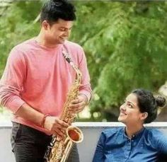 An old pic of Suresh Raina playing saxophone for his wife Priyanka Image Hero, Cricket Time, Latest Cricket News, Saxophone, Times, My Love, Awesome, Mens Tops, Saxophones
