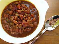 These Cowboy Beans are an excellent side dish.