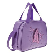 Brand New Starlite 140 Purple Ballet Shoe Holdall 25 cm x 20 cm 10 cm. Perfect for all types of Shoes. Purple Ballet Shoes, Dance Belt, Dance Outfits, Violet, Types Of Shoes, Leotards, Fashion Backpack, Gym Bag, Brand New