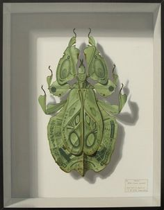 To avoid becoming prey, leaf insects use mimicry to blend into their surroundings. But in Takumi Kama's imagined future, when the insect's natural environment has been completely destroyed, these masters of camouflage will have no choice but to move in with those who took away their home.  Ani