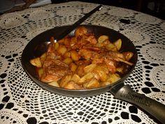 coniglio-alla-toscana Rabbit Food, Sugar Craft, Kung Pao Chicken, Poultry, Italian Recipes, Nom Nom, Cooking Recipes, Ethnic Recipes, Rabbit Recipes