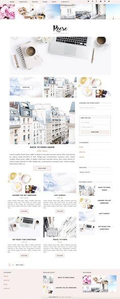 Reese - Wordpress Theme by Eclair Designs on @creativemarket