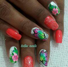 Finger Nail Art, Nail Art Designs, Acrylic Nails, Hair Beauty, Turquoise, Anna, Awesome, Nail Jewels, Nail Art