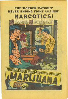 reefer madness comic books