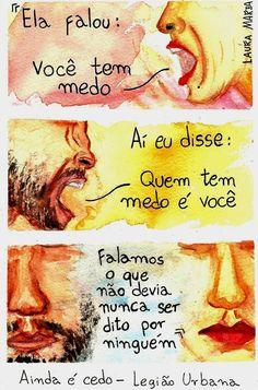 Ainda é Cedo - Legião Urbana (Composição: Ico-Ouro Preto / Dado Villa-Lobos / Renato Russo / Marcelo Bonfá)