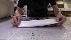 Printing Decorative Papers with Akua Inks