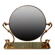 #Table #Mirror Cast Brass Magnifying Make Up 2- Sided Swivel # 19293 Shop --> http://www.rensup.com/Mirrors/Mirrors-Cast-Brass-Vanity-Mirror-Maginified-Dbl-sided-9-feet-H/pd/19293.htm?CFID=2637774&CFTOKEN=f4873a85f8a007c8-FEA26157-B9A2-0D4D-453227B9EC730E20