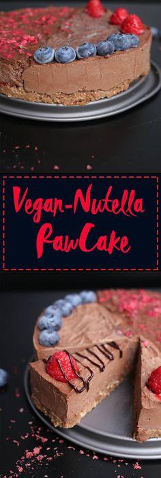 The absolute best vegan Nutella Cake Der beste Nutella Raw Cake – Vegan, kein raffinierter Zucker meals (Visited 1 times, 1 visits today) Raw Vegan Cake, Raw Vegan Desserts, Raw Cake, Raw Vegan Recipes, Vegan Treats, Gluten Free Desserts, Vegan Food, Desserts Crus, Desserts Sains