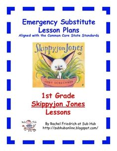 These lessons are intended for use as one-day emergency substitute teacher lesson plans. They can be downloaded by a classroom teacher to keep in a...