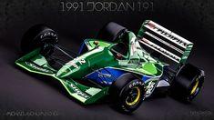 1991 Jordan 191 - Michael Schumacher - _by_nancorocks