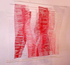 Textile art by Biljana Roman