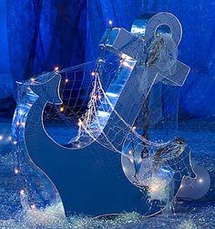 Underwater props for display, events, parties