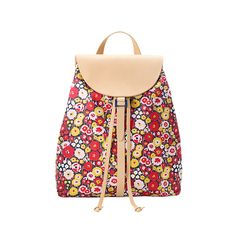 Kate Spade Saturday's floral backpack belongs somewhere else than the school playground.  Work it into your rotation of bags!  Backpacks are a do.